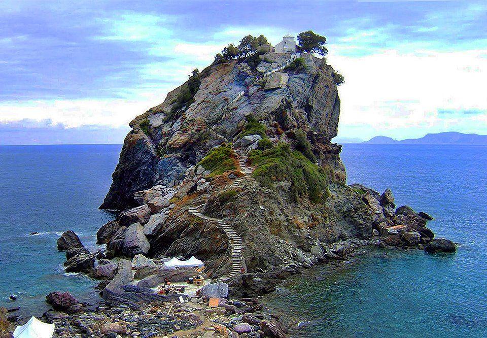 Agios Ioannis Skopelos Island Greece Filming Locations Greece Mediterranean Travel