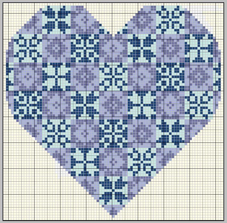 heart bead pattern - gazette 94