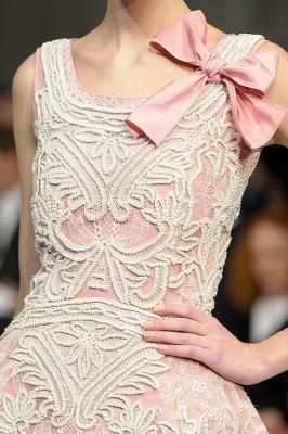 #lace #dress #Pink  ⌤ lace ⌤   This is so pretty!