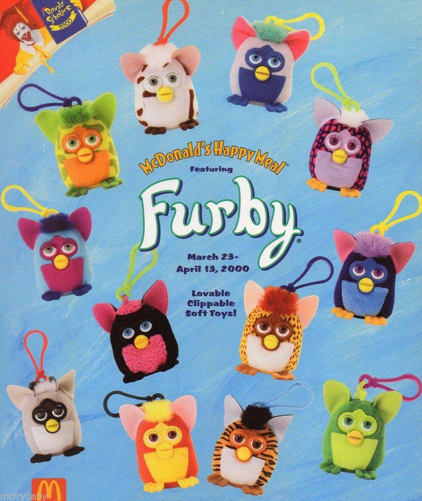 GO FURBY - #1 Resource For Original Furby Fans!: McDonald ...