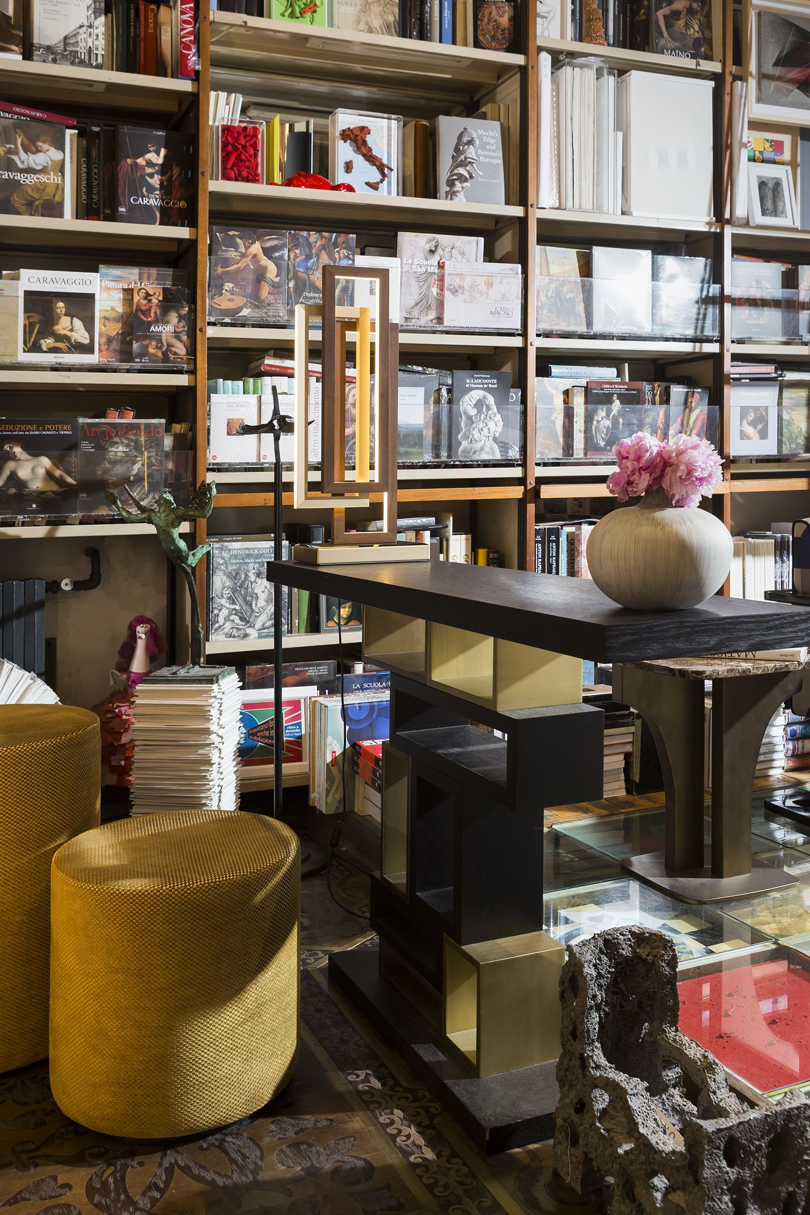 timeless design f1e6a bf71f OASIS SHOWROOM | Oasis selects the historical Libreria Bocca ...