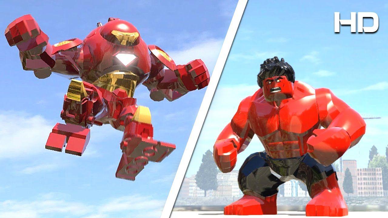LEGO HULKBUSTER vs RED HULK (TRANSFORMATION) - LEGO MARVEL ...