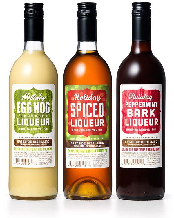 Holiday liqueurs - yum!