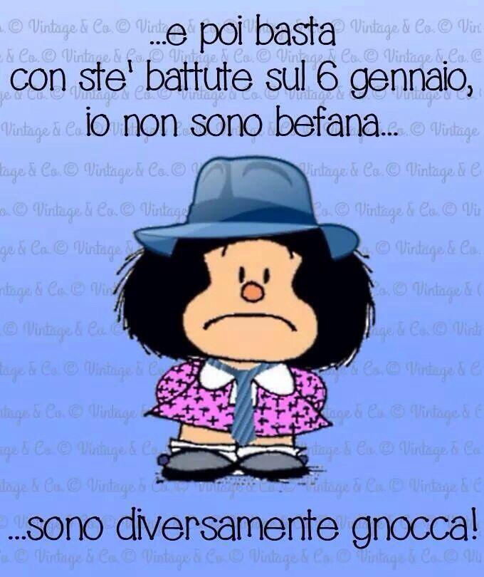 mafalda #befana | Immagini citazioni divertenti, Immagini divertenti,  Citazioni divertenti