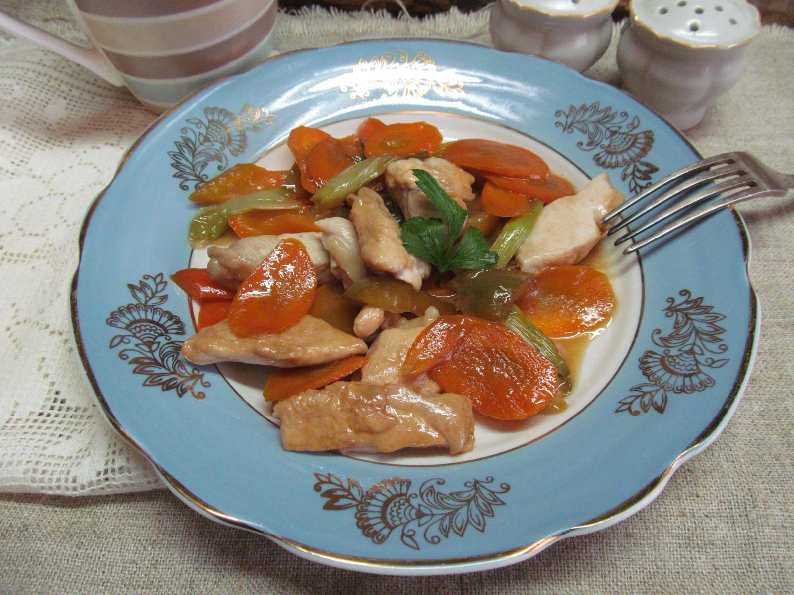 Куриное филе с овощами за 15 минут | Рецепт | Национальная ...