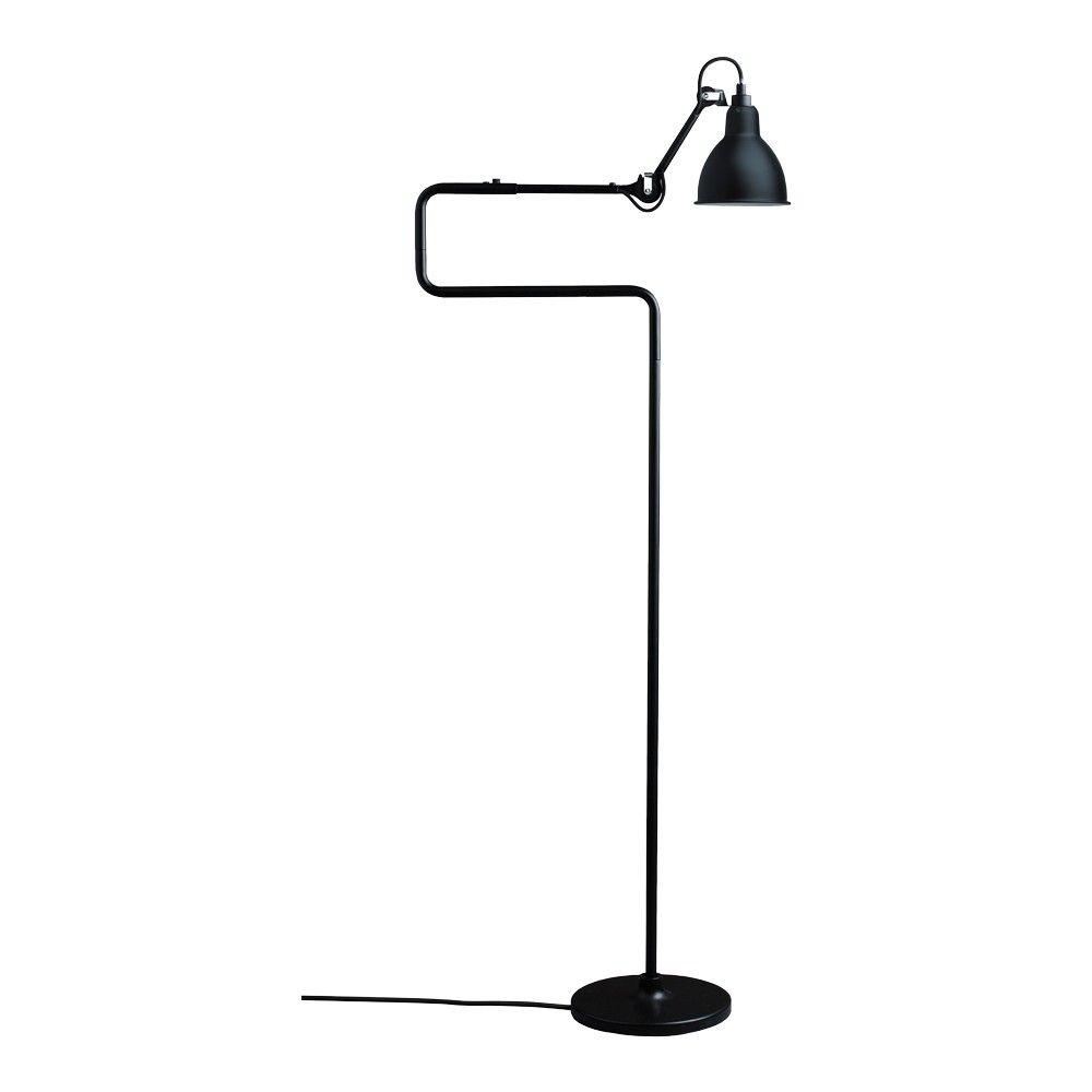La Lampe Gras Dcw No 411 Floor Lamp Black Satin