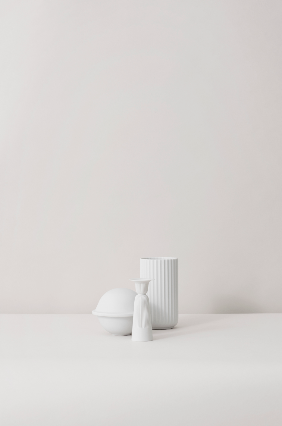 Lyngbyvasen, Chapeau & Tsé Candleholder #porcelænsfabrikkendanmark #monogram #original