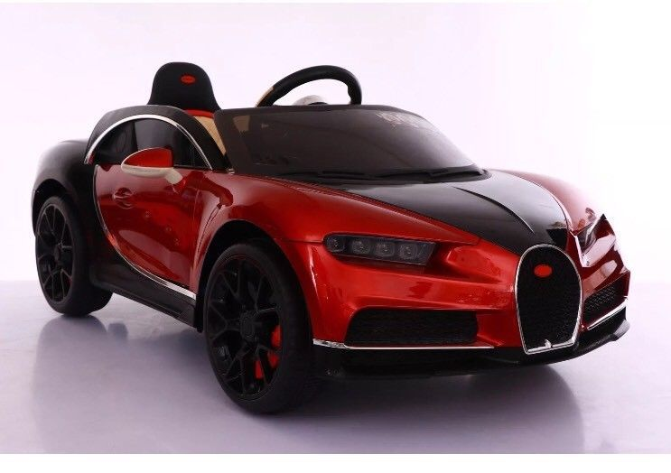 145f86a425ae New Bugatti Chiron style Kids ride on Child Toy car 12v Remote control Red  | eBay