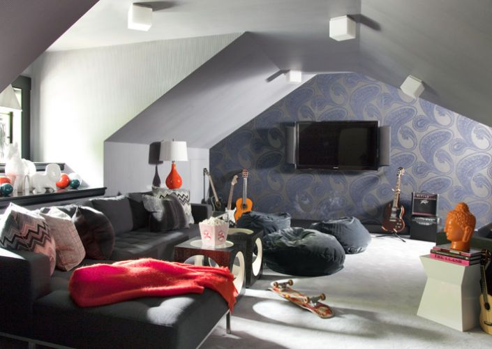 Liz Caan Interiors Attic Rooms Attic Renovation Attic Flooring