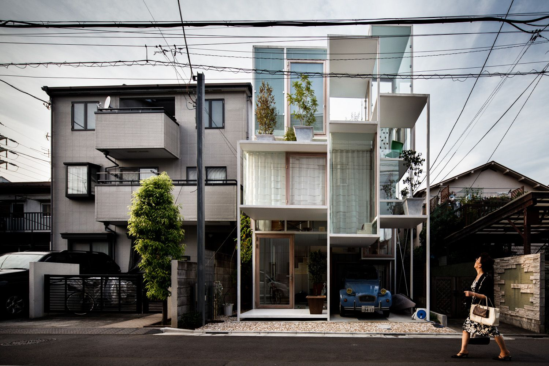 'House NA', by Sou Fujimoto, 2012. Photography: Jérémie Souteyrat