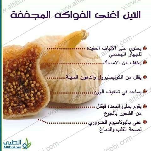 Pin By Samira Farhat On وصفات من الطبيعة Health Benefits Of Figs Healthy Facts Health Drink