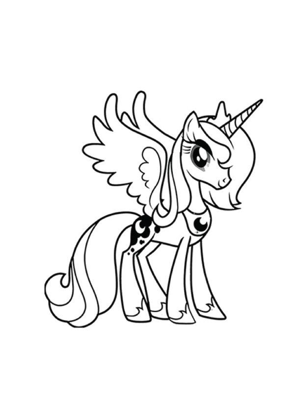 Excepcional Mi Pequeño Pony Navidad Páginas Para Colorear Amistad Es ...