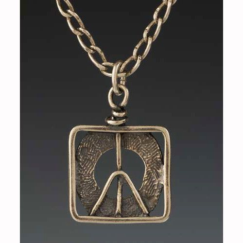 Sherri Cohen Design Peace In A Box Necklace Artistic Artisan