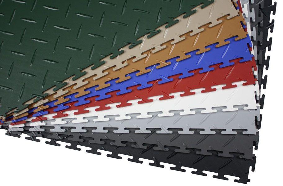 Diamond Flex Tiles Garage Floor Tiles Garage Floor Plastic