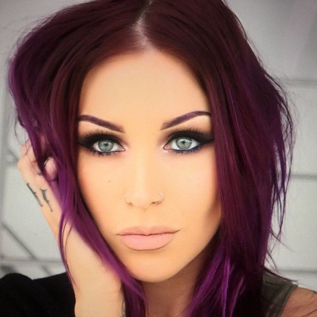 Makeup For Purple Hair And Green Eyes - Mugeek Vidalondon