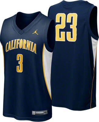 7f81c6ceebe4 California Bears Nike Navy Replica Basketball Jersey