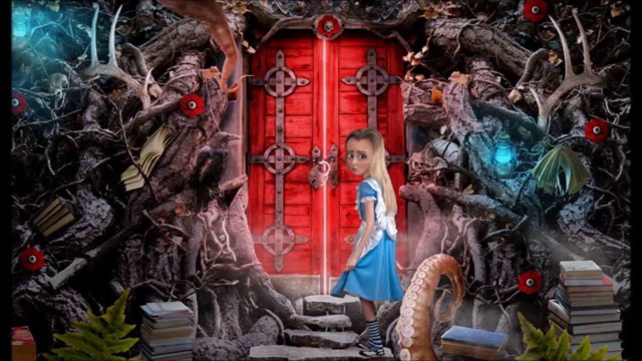 Alice and Crimson Door Process & Alice and Crimson Door Process | ladyamarillis | Pinterest