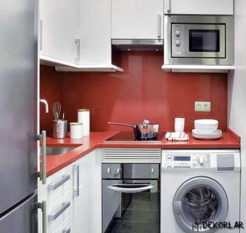 K k mutfak dekorasyon fikirleri 1 aksesuar for Decorer une petite cuisine