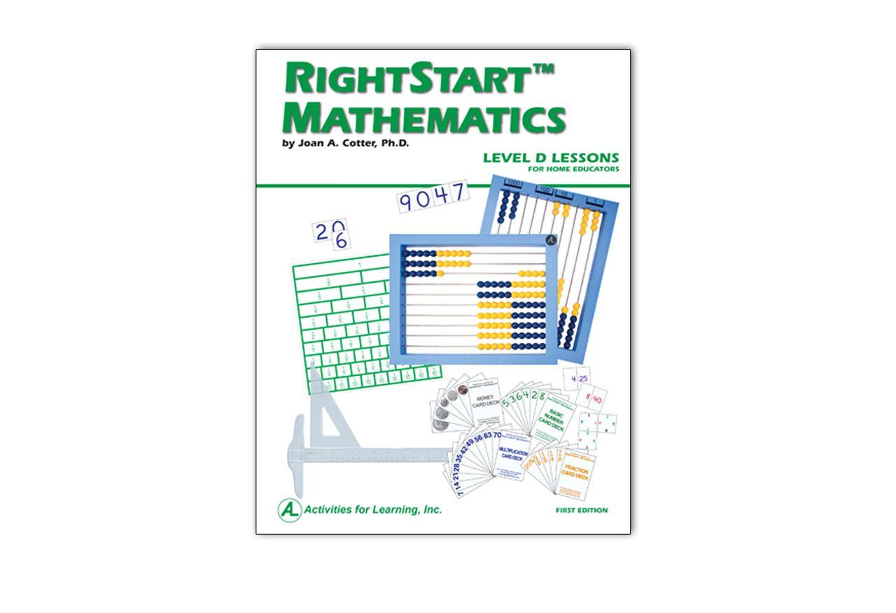 Rightstart Mathematics Level D Lessons