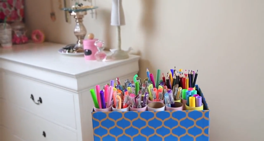 DIY Room Organization Spring Cleaning Decor by Bethany Mota