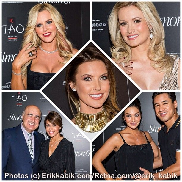 Great photo collage via erikkabik: Annual #simongsoiree @Hu Jin Tao @venetianvegas #simongjewelry #simong images @retnaltd