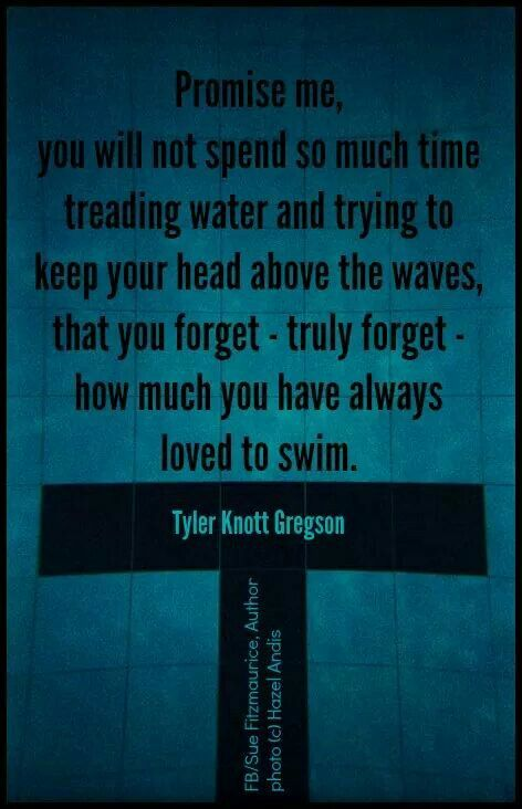 Don't forget to swim