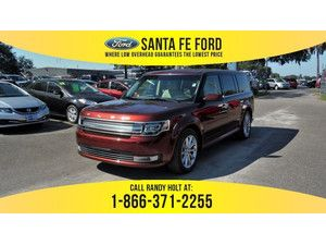 2016 Ruby Red Metallic Tinted Clearcoat Ford Flex Limited 359022