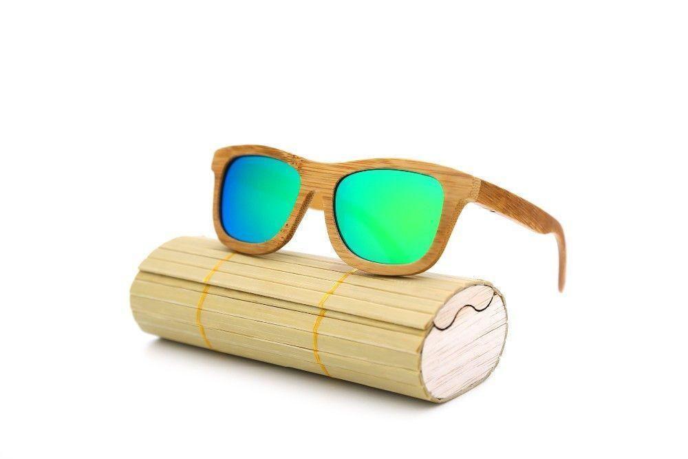 Handmade Bamboo Sunglasses For Men And Women