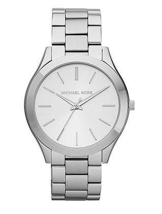 Часы женские Michael Kors Runway, серебряные http ...