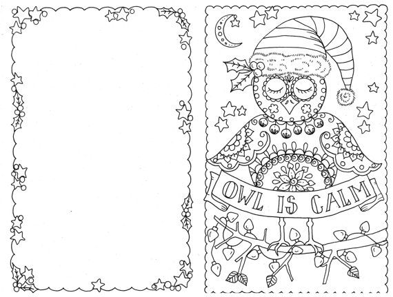 Christmas Pictures That You Can Color