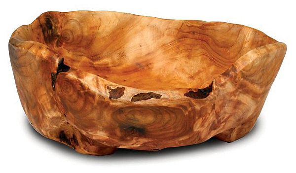 One Kings Lane - A Little Bit Country - Hand-Carved Fir Root Bowl
