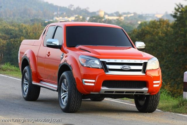 All New Ford Ranger 2015