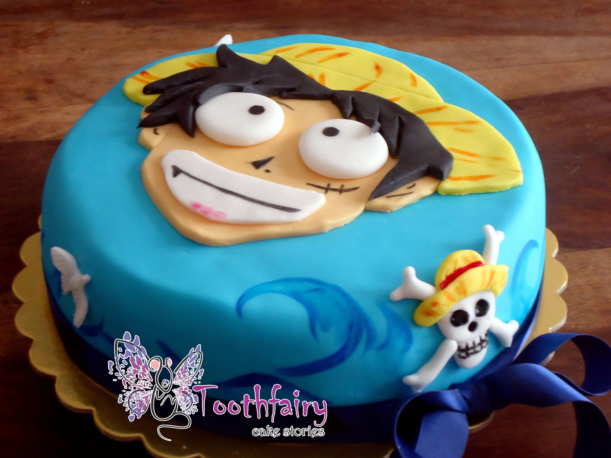 "Top one piece-Luffy"" cake 