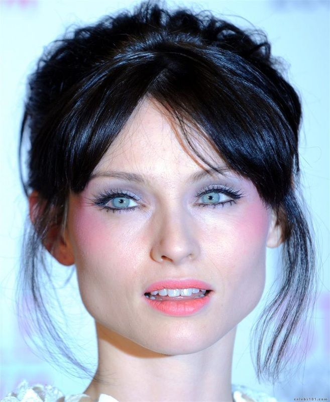 Wedding Hairstyle For Square Face: Sophie Ellis Bextor, Hair Styles