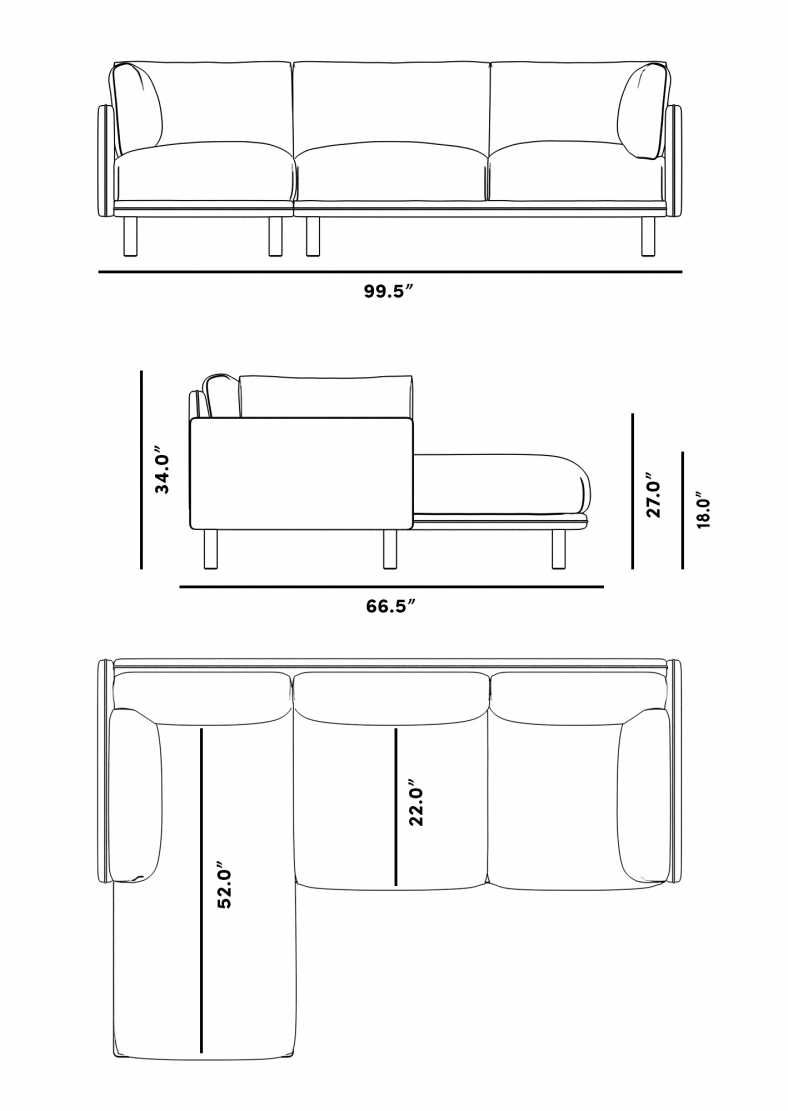 Anderson Sectional Rove Concepts Rove Concepts Mid Century