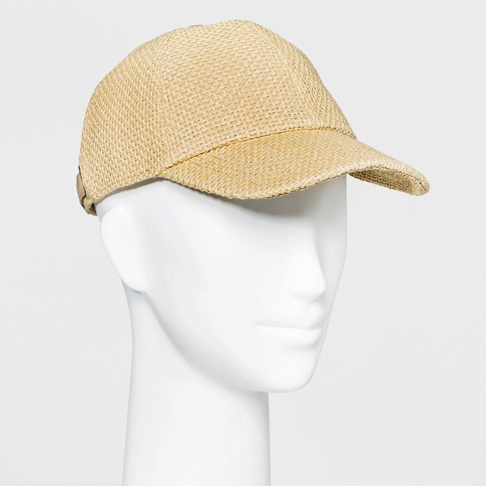 78ef15b516d71 Women s Baseball Hat - Universal Thread Tan