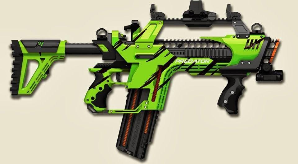 New blaster! Tek Recon, not #nerf