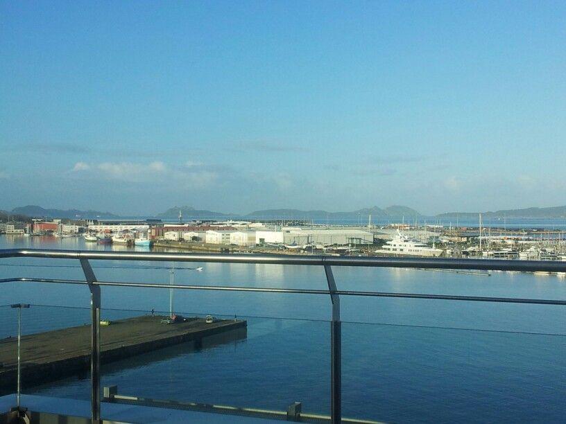 Ria de Vigo e Islas Cies. Vigo. Spain.