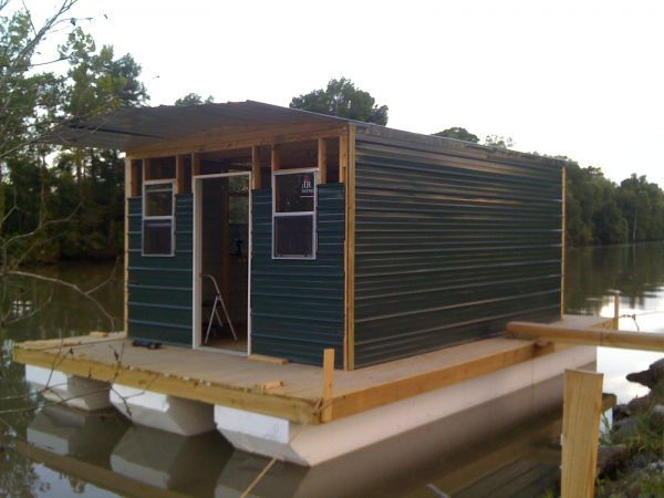homemade houseboats pictures homemade houseboat for sale 2013 homemade boats house boat - Small Houseboat