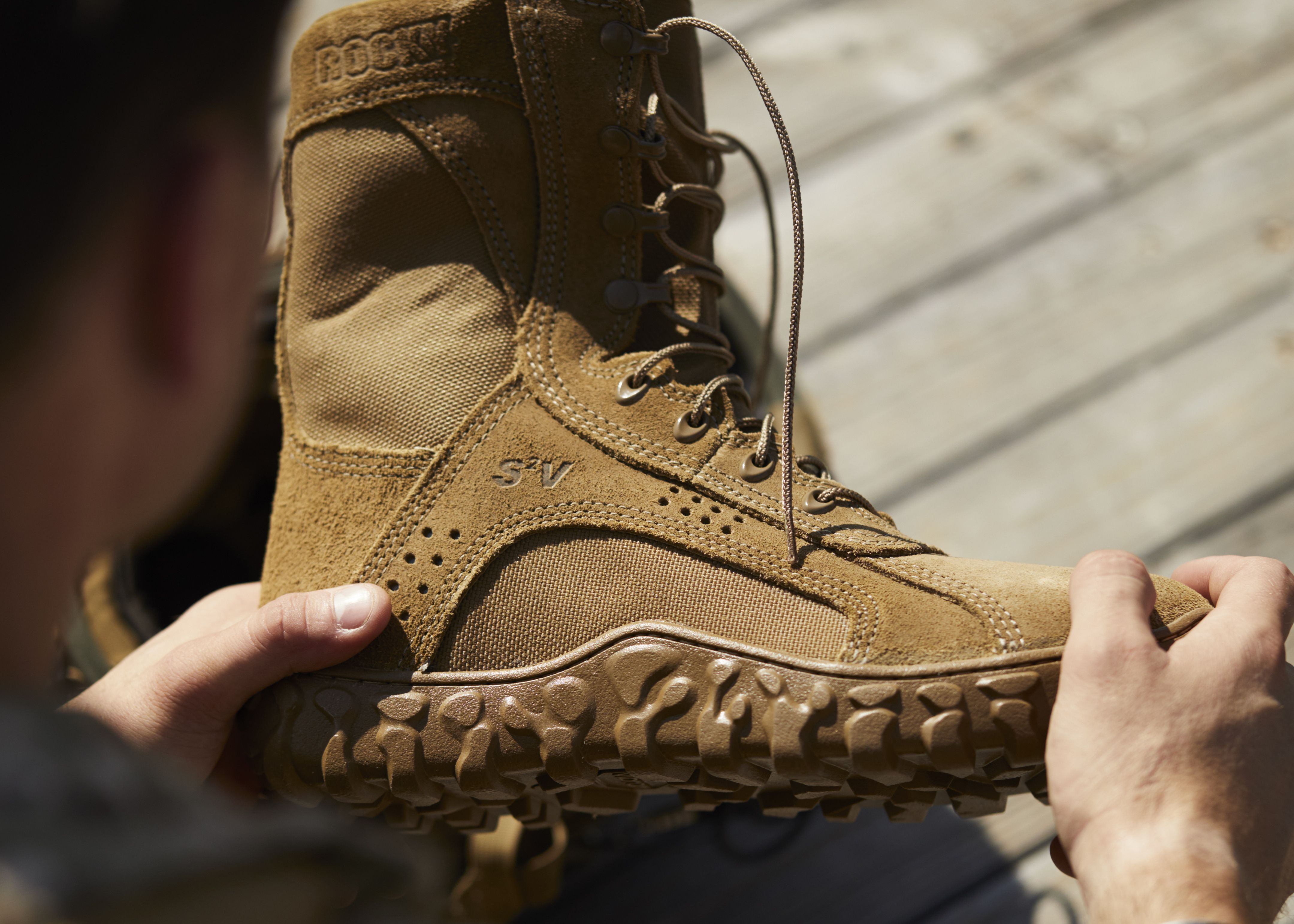 Rocky S2v Tactical Military Boot Boots Military Boots Coyote Brown Boots
