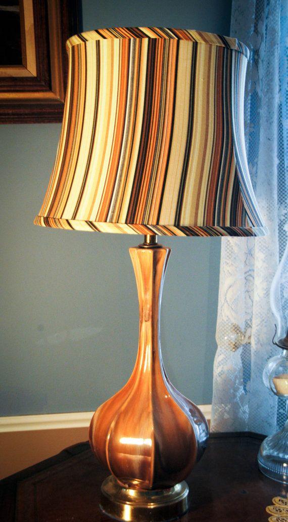 Vintage 1970s Lamp Shade Lamp Lamp Shade I Love Lamp