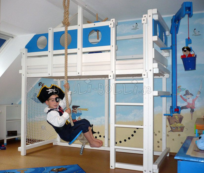 Billi bolly piratenbett nautical pinterest kinderzimmer - Piratenbett kinderzimmer ...