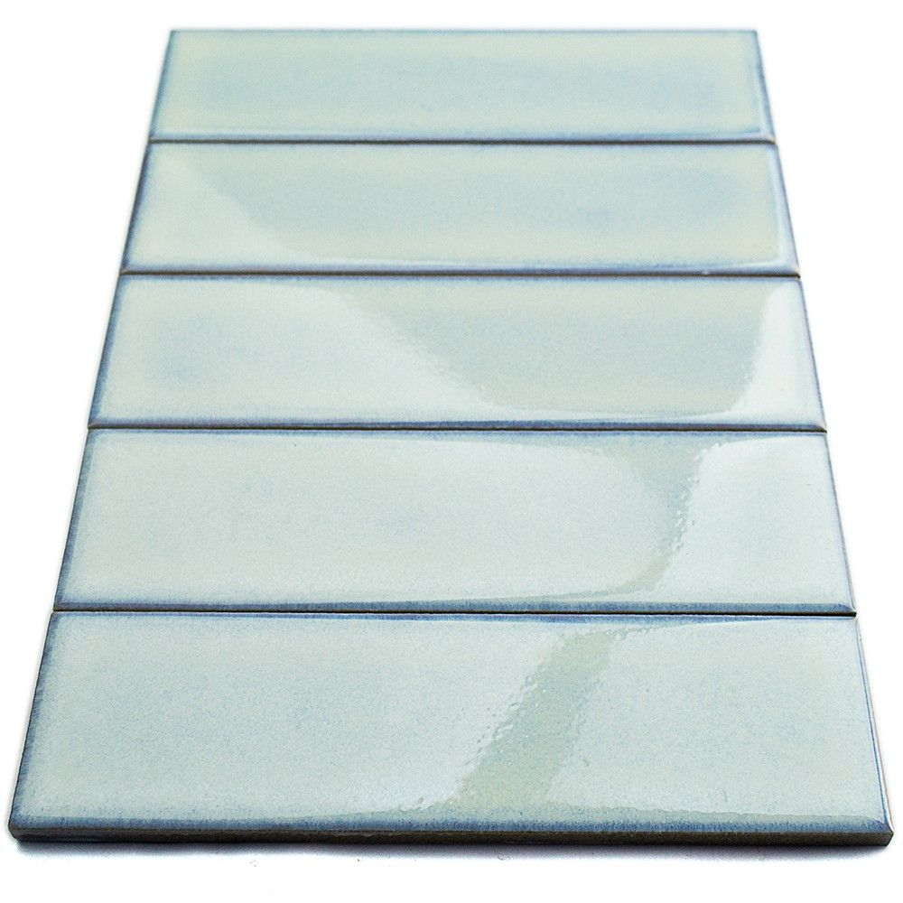 Byzantine 2 5x9 Alice Blue Ceramic Subway Tile Ceramic Subway Tile Blue Tiles Mosaic Tiles