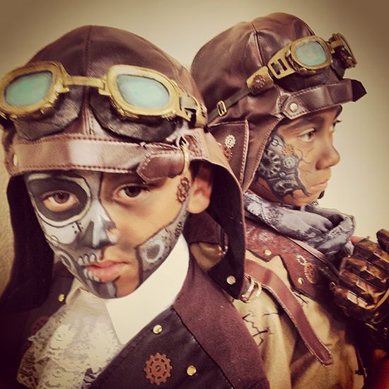 Diy Steampunk Robot Aviator Costumes Antiques And Crafts