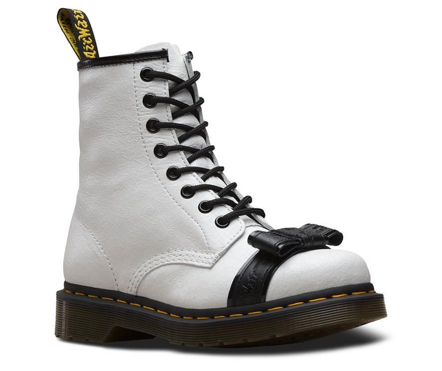Dr martens 1460 crackle   Doc martens, Patent leather boots