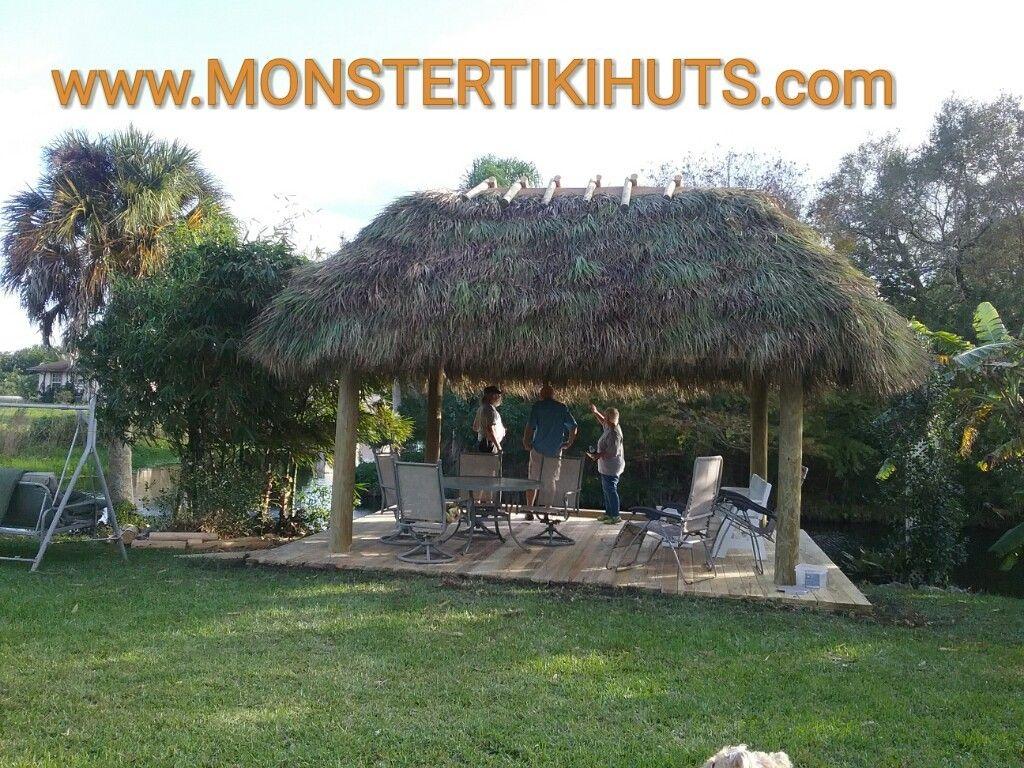 Pin By Monster Tiki Huts On Custom Tiki Huts Tiki Hut