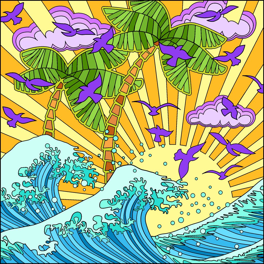 Pin By June Barrientos On Color By Numbers Coloring Book App Coloring Pages Coloring Books
