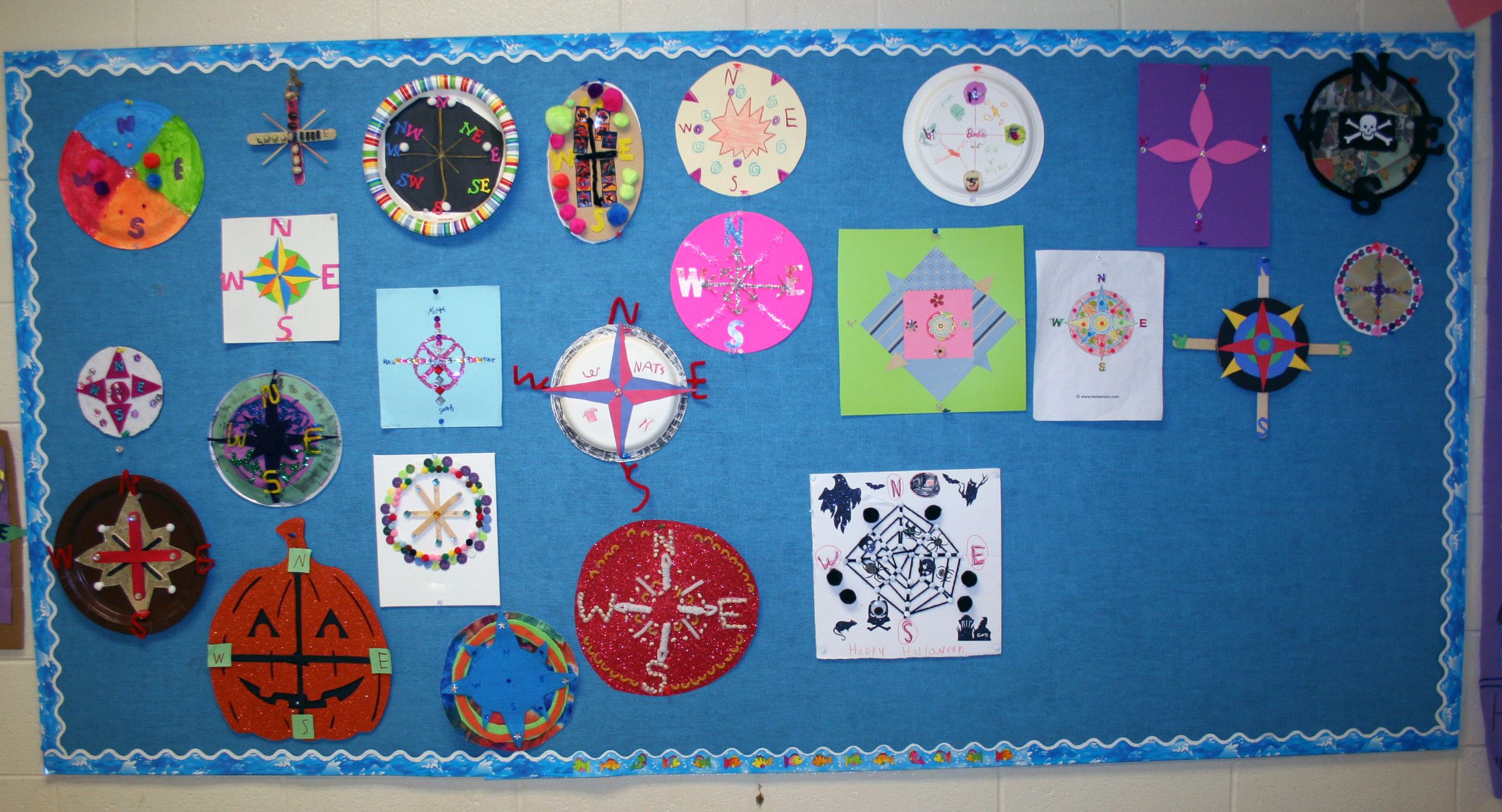 2nd Grade Compass Rose Project With Images