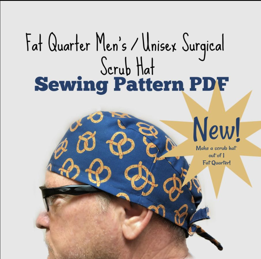 Pin On Scrub Hat Sewing Patterns