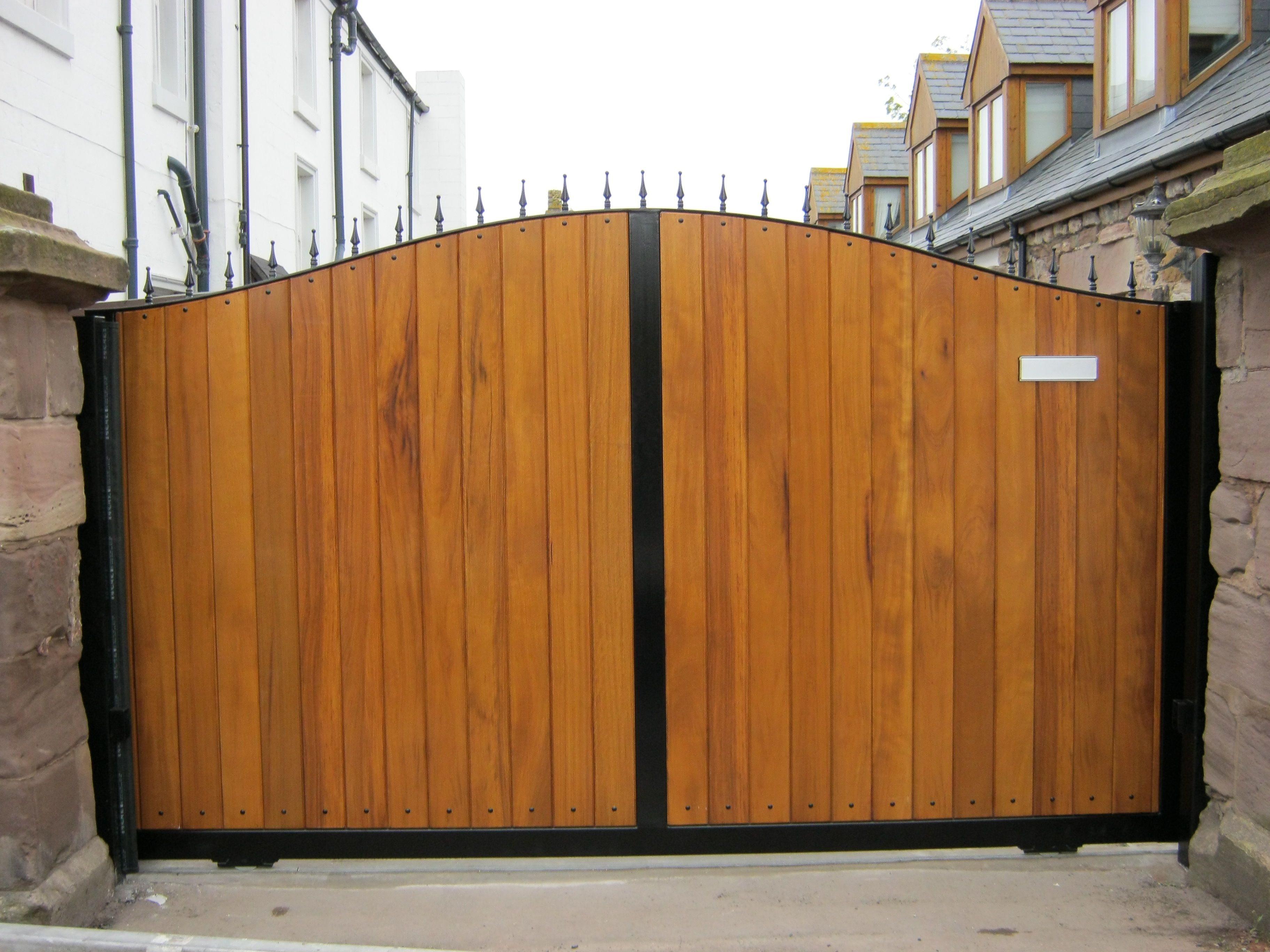 Wooden Security Gates Security Gates Gate Driveway Gate